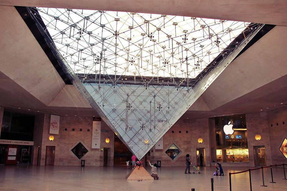 卢浮宫内景_Louvre_In