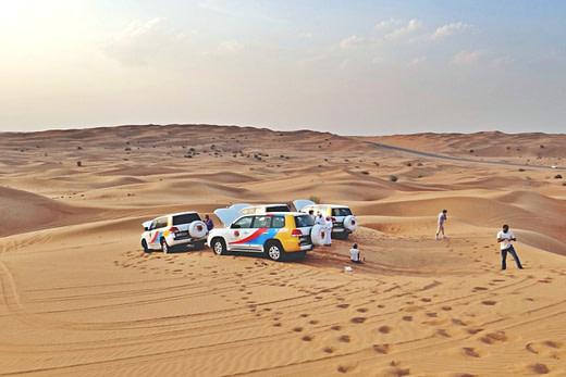 迪拜沙漠冲沙Dubai Desert Safari