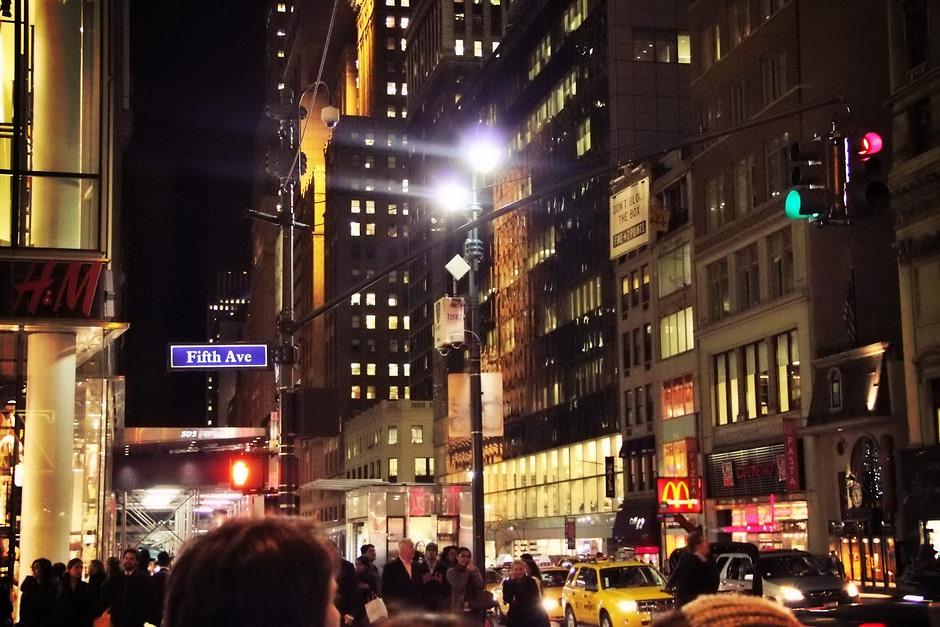 第五大道夜景Fifth_Ave_night
