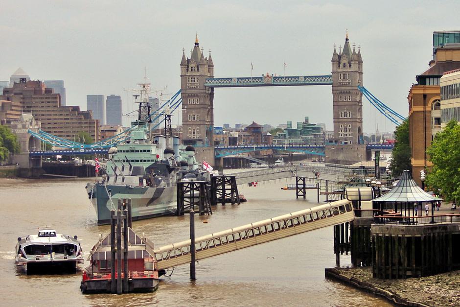 伦敦塔桥London_Tower_Bridge