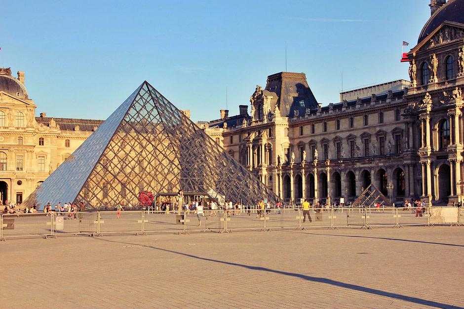 卢浮宫外景_Louvre_Out