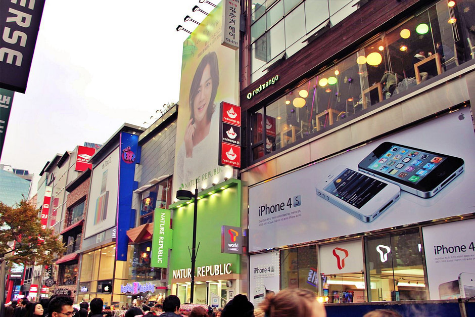 明洞街景Myeongdong_shop_1