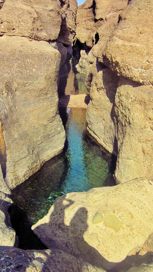 哈塔岩池Wadi_pool